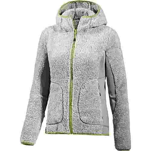 icepeak leela fleecejacke damen grau im online shop von sportscheck kaufen. Black Bedroom Furniture Sets. Home Design Ideas