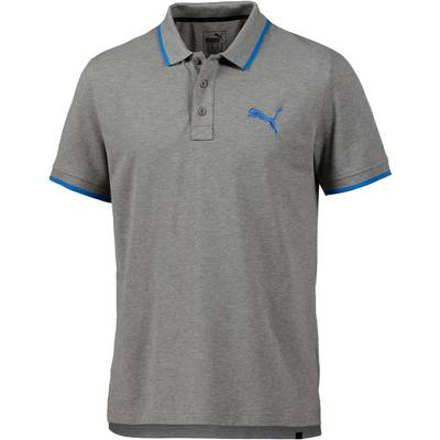 PUMA Sports Poloshirt Herren grau