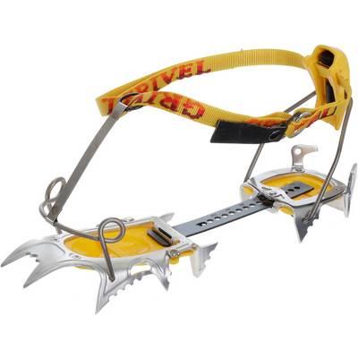 Grivel Air Tech Light Cramp-O-Matic Steigeisen gelb
