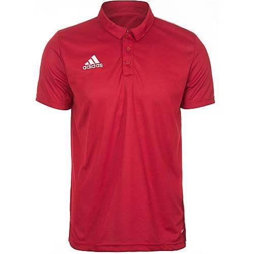 adidas Core 15 Poloshirt Herren rot / weiß