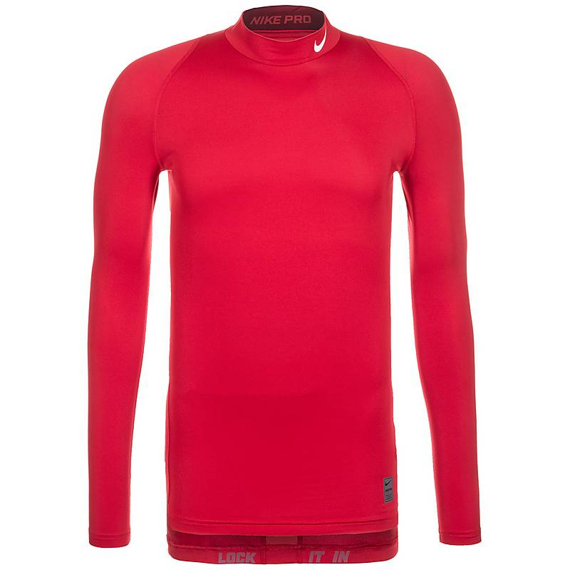 nike compression shirt herren rot