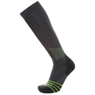 Nike Sportsocken grau / gelb