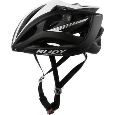 Rudy Project Airstom Fahrradhelm schwarz weiß