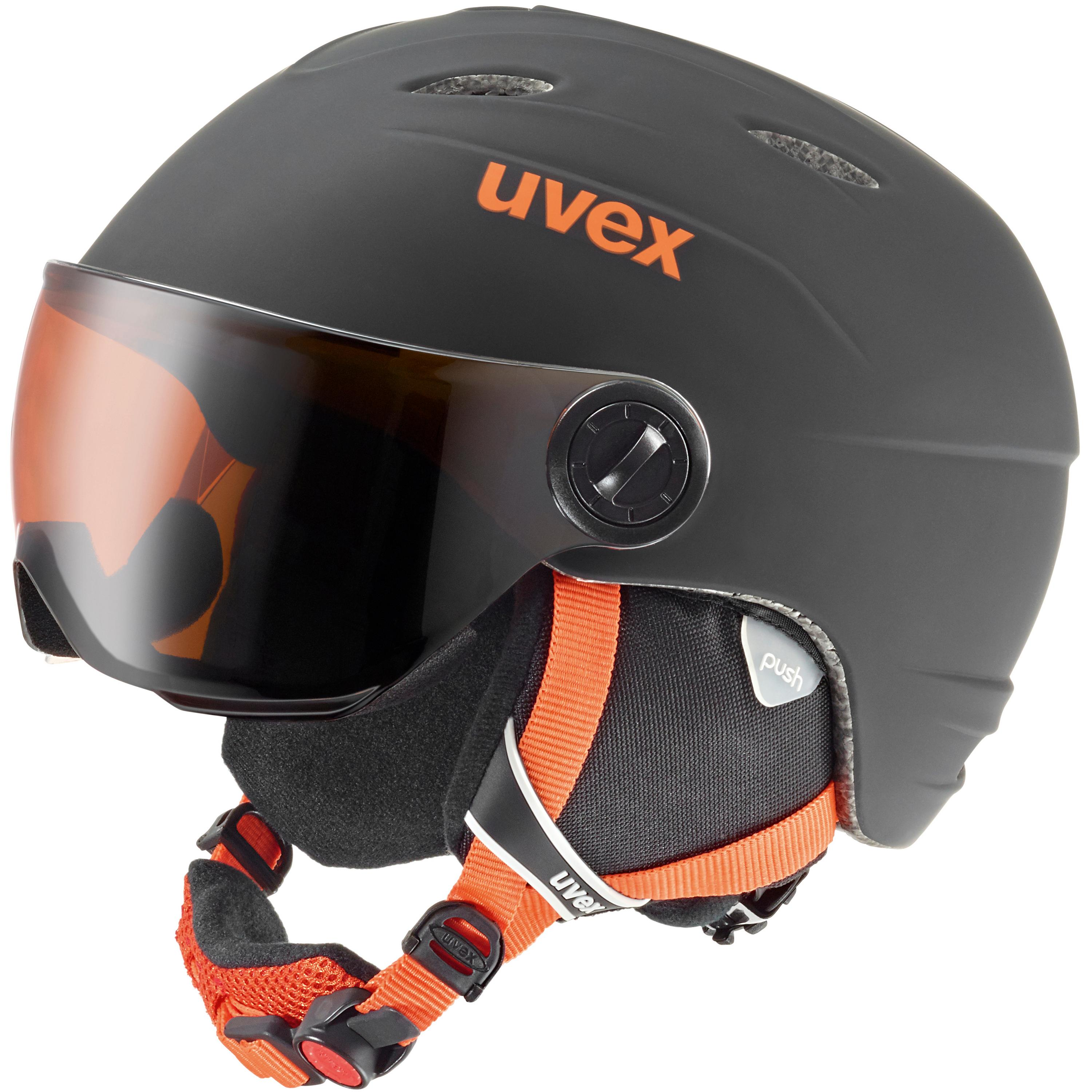 Uvex junior visor pro Skihelm Kinder Helme 52-54 Normal