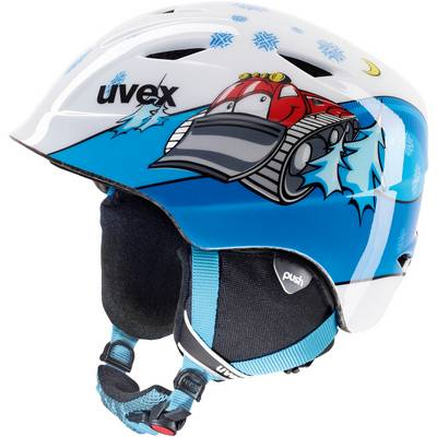 Uvex airwing 2 Skihelm Kinder white caterpillar