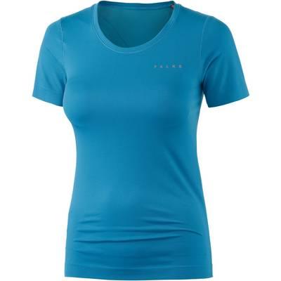 Falke Fitness Running Laufshirt Damen blau