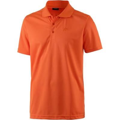 Maier Sports Ulrich Poloshirt Herren orange