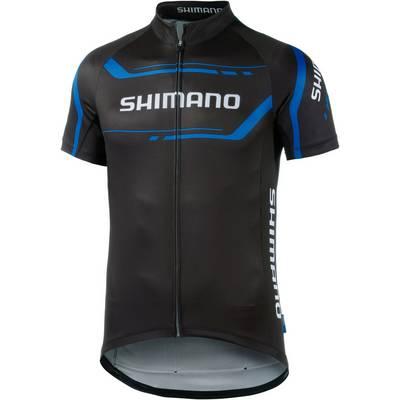 Shimano Fahrradtrikot Herren schwarz/blau
