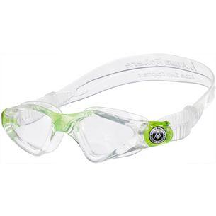 Aqua Sphere Kayenne Junior Schwimmbrille Kinder transparent/lime