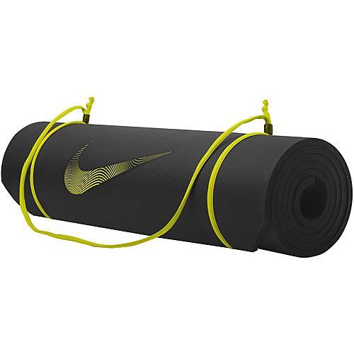 Nike Matte schwarz/lime