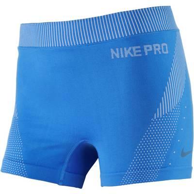 Nike Pro Hypercool Limitless Tights Damen blau/weiß