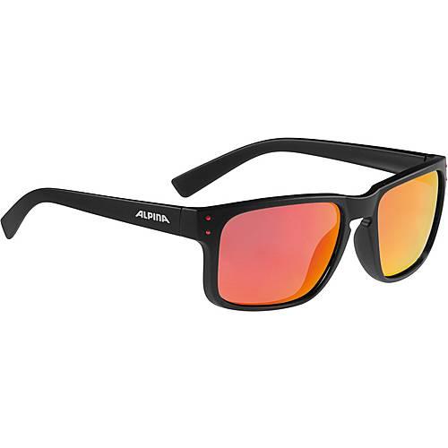 ALPINA Kosmic Sonnenbrille schwarz/rot