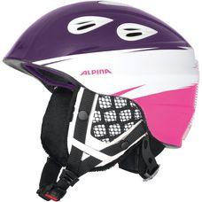 ALPINA GRAP 2.0 JR Skihelm Kinder lila/ weiß/ pink