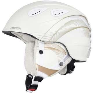ALPINA GRAP 2.0 Skihelm white-prosecco matt