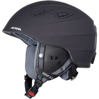 ALPINA GRAP 2.0 Skihelm black matt