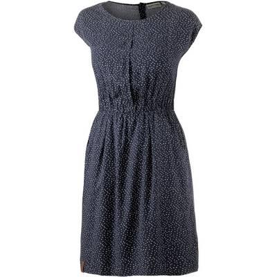 Naketano Schätzeken IV Kurzarmkleid Damen dunkelblau/weiß