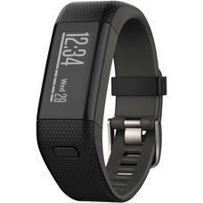 Garmin Vivosmart HR + Fitness Tracker schwarz