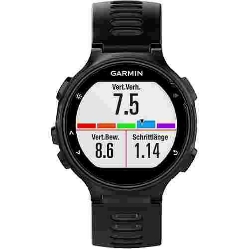 garmin forerunner 735xt sportuhr schwarz grau im online. Black Bedroom Furniture Sets. Home Design Ideas