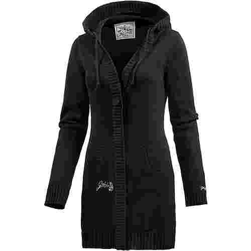 Gotcha Summer Denieze Strickjacke Damen schwarz