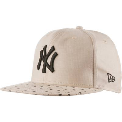 New Era Micro Palm fitted NY Yankees Cap grau/schwarz