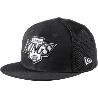 New Era Mesh Snapback LA Kings Cap schwarz/weiß
