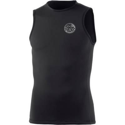 Rip Curl Aggrolite Sleeveless Vest Black Neoprenshirt Herren schwarz