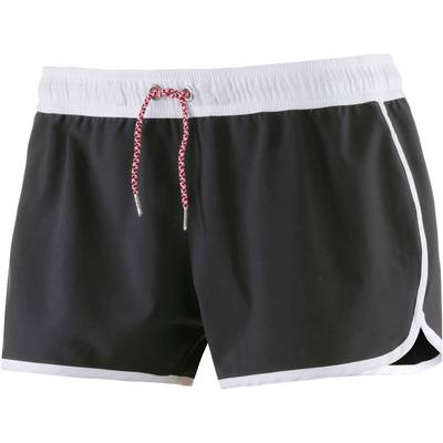 Seafolly Beach Runner Hot Pants Damen schwarz/weiß
