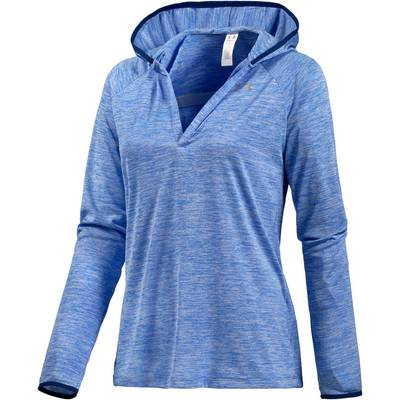 Under Armour TECH Kapuzenshirt Damen blau/melange