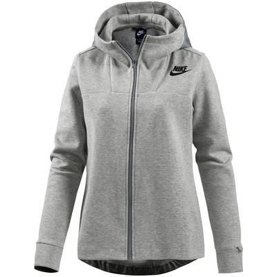 Nike Advanced Sweatjacke Damen grau/melange