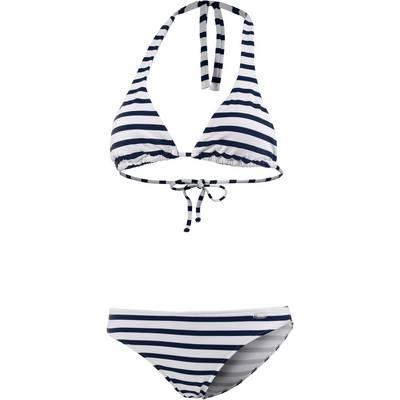 VENICE BEACH Langnese Triangelbikini Damen marine/weiß
