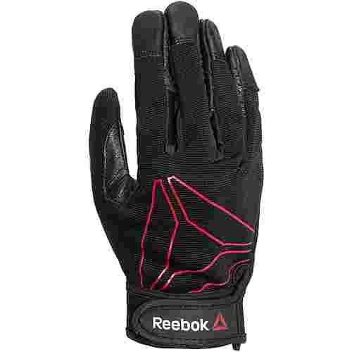 Reebok Fitnesshandschuhe schwarz/rot