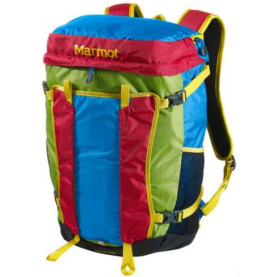Marmot Big Basin Daypack rot/grün/blau