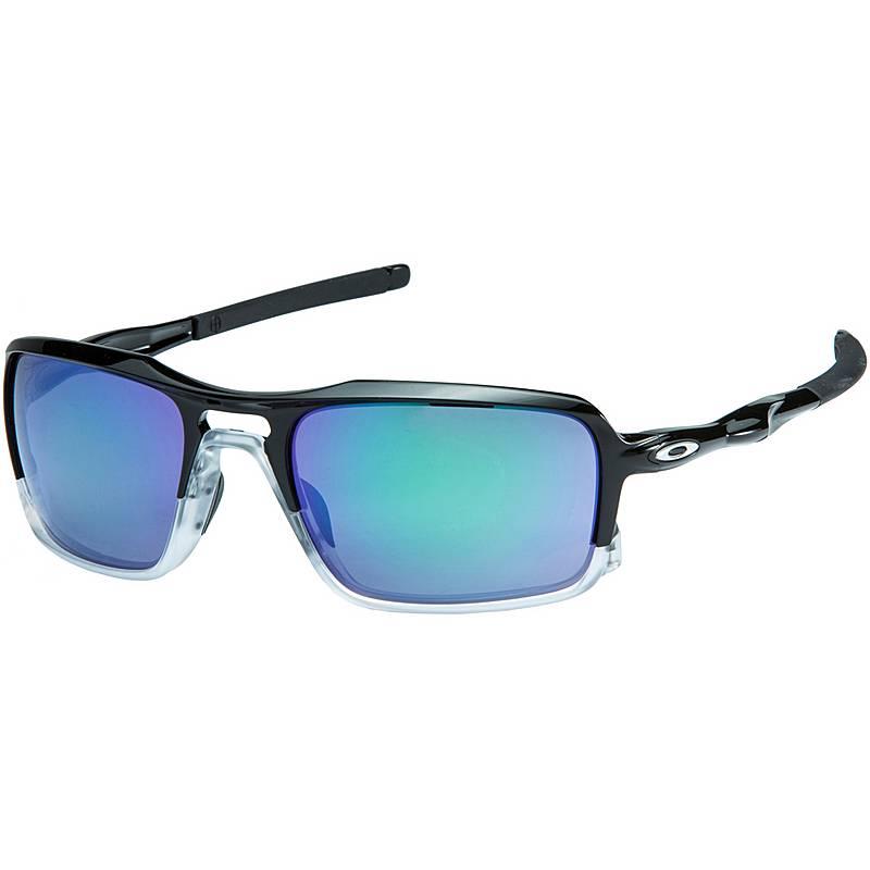 Oakley Triggerman Sonnenbrille Polished Black/Jade Iridium j4H8nc