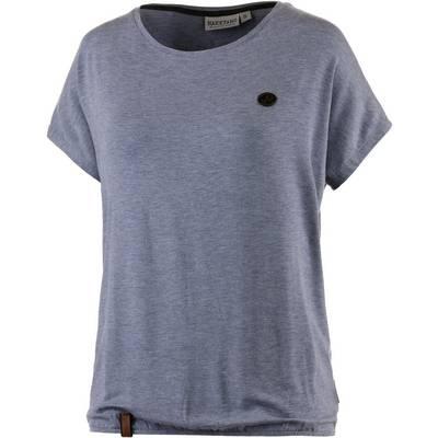 Naketano Die Gedudelte II T-Shirt Damen blaugrau melange