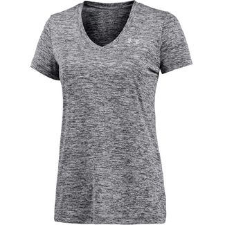 Under Armour TECH Funktionsshirt Damen dunkelgrau/melange