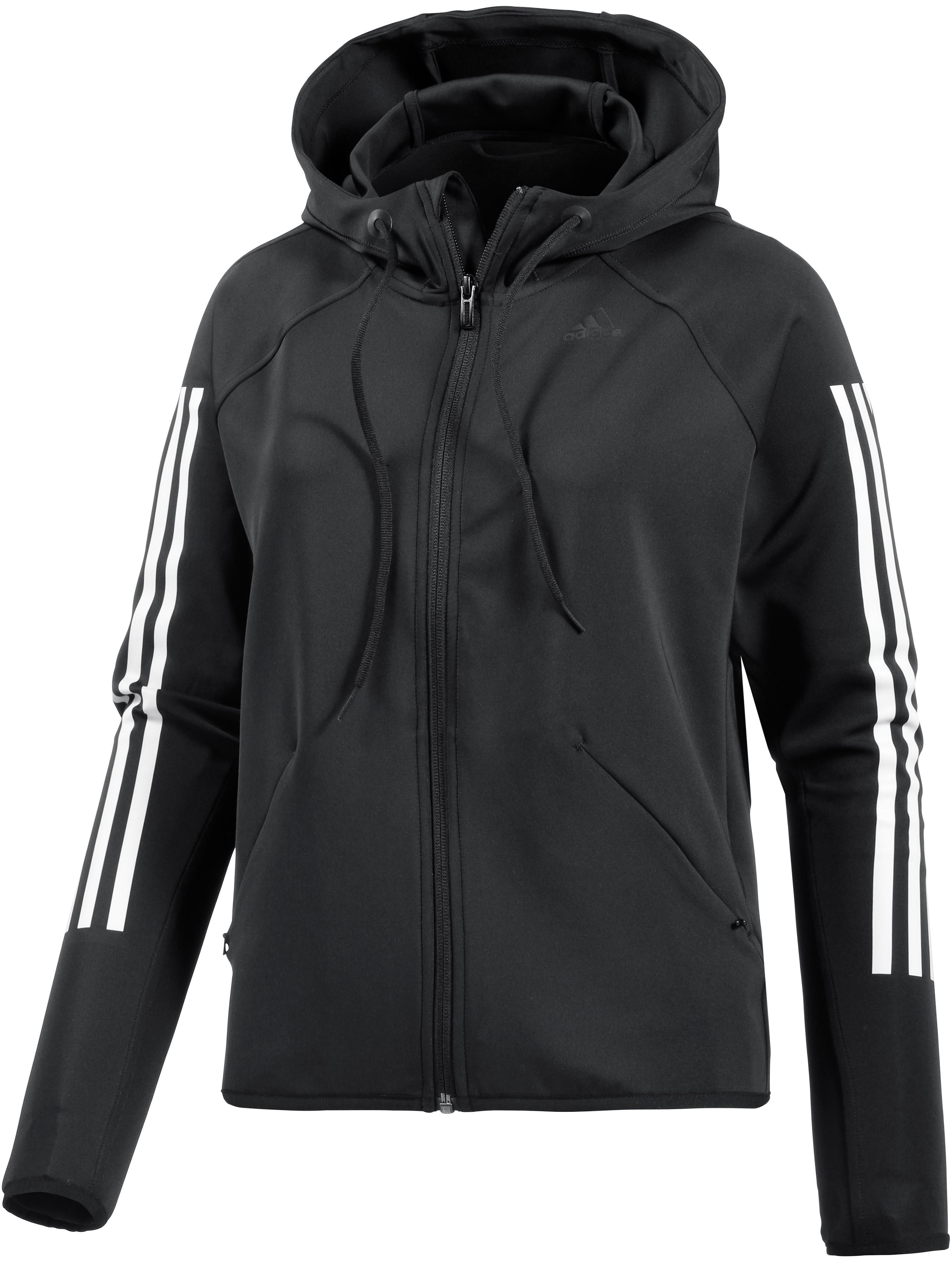 Adidas jacke damen weis schwarz
