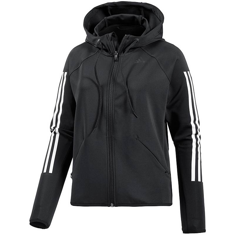 Adidas Trainingsjacke Damen schwarz weiß im Online Shop von ... 1bbff7d59e