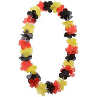 ID Merchandising Halskette schwarz-rot-goldfarben