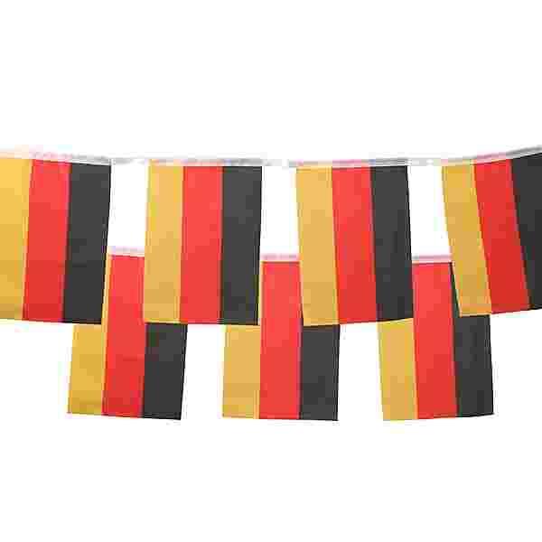 ID Merchandising Fahne schwarz-rot-goldfarben