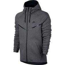 Nike Tech Fleece Kapuzenjacke Herren grau