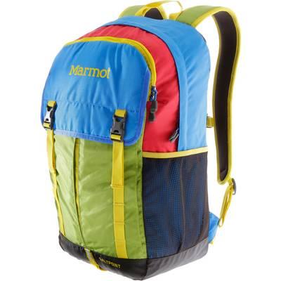 Marmot Salt Point Daypack blau/grün/rot