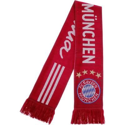 adidas FC Bayern Fanschal rot