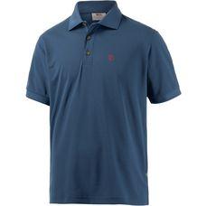 FJÄLLRÄVEN Crowley Piqué Poloshirt Herren blau