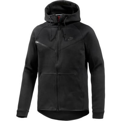 Nike Tech Fleece Hoodie Herren schwarz