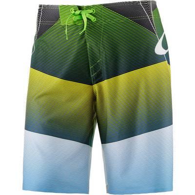 Oakley Blade Mach 1 Boardshorts Herren grün/gelb/blau