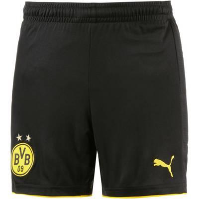 PUMA Borussia Dortmund 17/18 Heim Fußballshorts Kinder schwarz/gelb