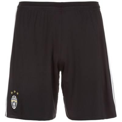 adidas Juventus Turin 16/17 Heim Fußballshorts Herren schwarz / weiß