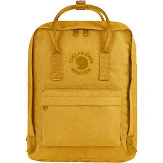 FJÄLLRÄVEN Rucksack Re-Kånken Daypack gelb