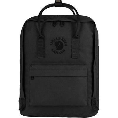 FJÄLLRÄVEN Re-Kånken Daypack schwarz