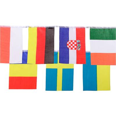 ID Merchandising Fanartikel Fahne schwarz/rot/goldfarben